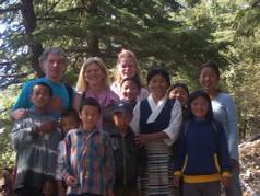 \'Tibetan Children\'s Village\' - with Peter, Sadhya & Metti