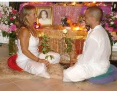 Donna & Chaitanya - our wedding day
