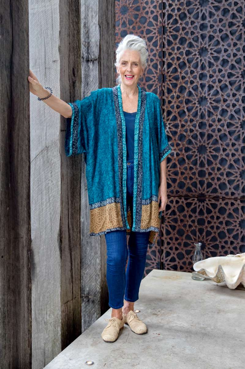 Vintage Wool Kimono
