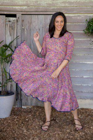 Sleeved Flamenco Dress