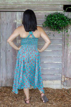 Rosa Dress - Spring Flowers