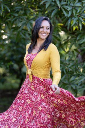 Flamenco Dress - Passionflower